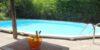 Privé zwembad met poolhouse