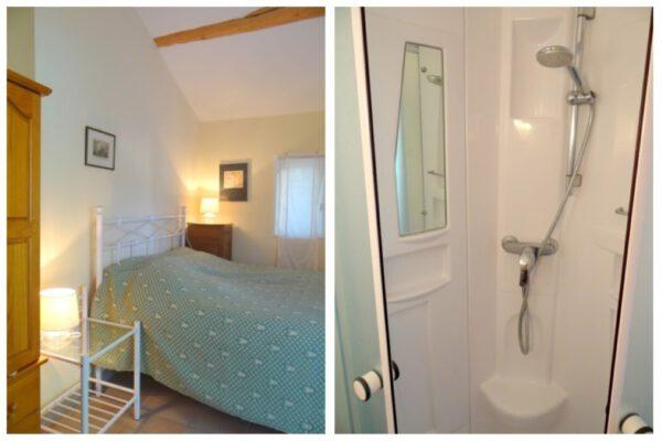 Slaapkamer 2 met en suite badkamer